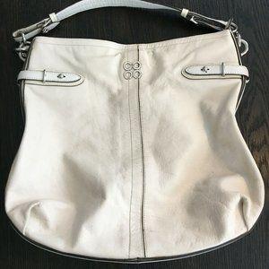 Coach Colette Leather Shoulder Hobo Purse Bag